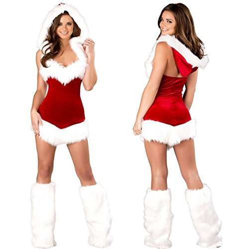 Dreams Mall(TM)Women's Miss Hot Sexy Christmas Costume