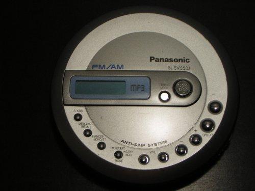 Panasonic SL SV553J CD Jogger Portable MP3-CD Player (Panasonic Portable Gps)