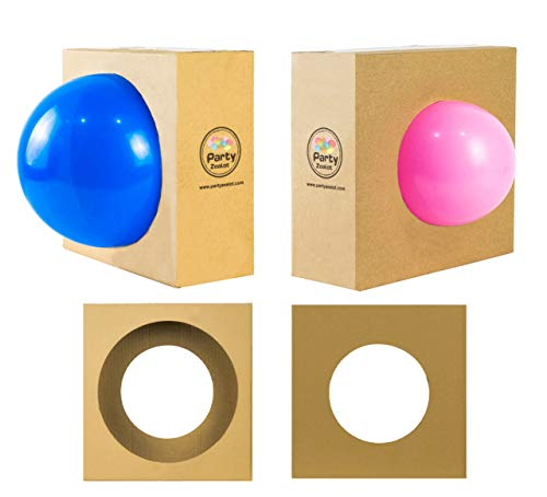 Party Zealot 2 Pack Balloon Sizes Measuring Box