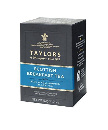 Scottish Food (Taylors of Harrogate Scottish Breakfast, 20 Teabags)