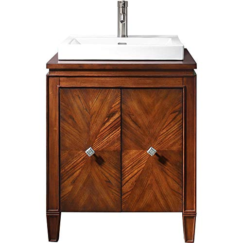 Avanity Westwood 24 in. Vanity with Integrated Vitreous China Top in Dark Ebony finish