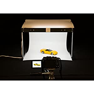 MyStudio PS5LED Tabletop Lightbox Photo Studio With LED Lighting For Product Photography , White