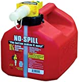 No Spill Poly Gas Can 1.25 gal.