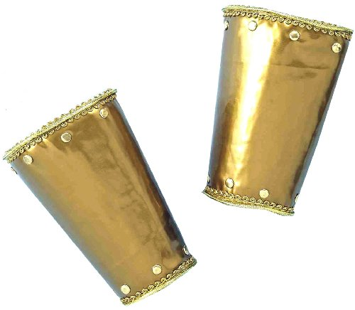 Forum Deluxe Roman Costume Wristlets, Gold, One Size