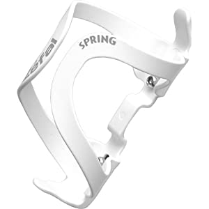 Zefal Spring Bottle Cage, White