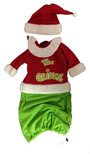 The Grinch Baby Costume and (Grinch Baby Costume)