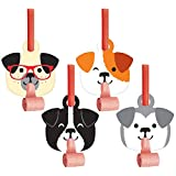 Dog Party Party Blowers, 24 ct