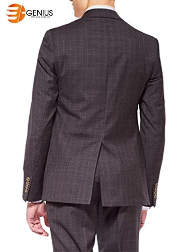 Warm Piece e High Qaulity Wales Of Suit Prince Dark Charcoal Brown 2 Genius xzfqBz5