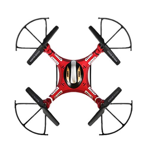 Drone HD Camcorder FPV 5.8G Picture Transmission Drone Quadcopter Suspension Altitude Hold Headless Mode Function Birthday Present Red