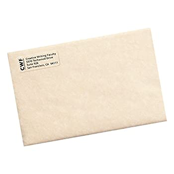 """Avery Clear Easy Peel Return Address Labels For Laser Printers 23"""" X 1-34"""", Pack Of 600 (15695) 2"""