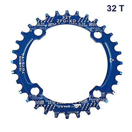 Estrecho, Ancho Grizack 104BCD 32T 34T 36T 38T 40T Plato para Bicicleta de monta/ña