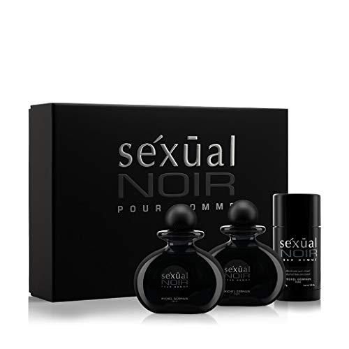 Michel Germain Sexual Pour Homme 3 Piece Gift Set, Noir