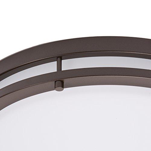 lb72147 led flush mount ceiling light oil rubbed bronze. Black Bedroom Furniture Sets. Home Design Ideas