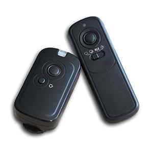Kaavie - Disparador remoto inalámbrico para cámaras digitales SLR Nikon D90, D600, D5000, D5100,D3100, D3200, D7000,D7100 MC-DC2
