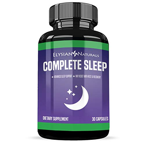 Extra Strength Sleep Aid -Restful Sleep - Insomnia Relief - with Melatonin- Wake up Feeling Rested - Sleeping Pills for Adults - 30 Day Supply