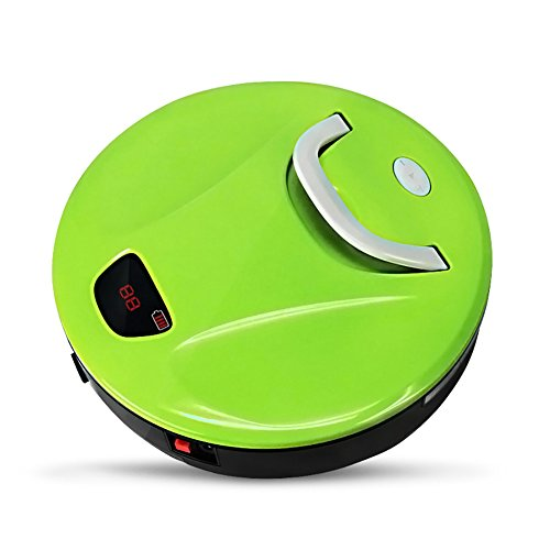 FINE DRAGON Robot Sweeper Automatic Floor Cleaning Robot Sweeping Robotic Machine with Portable Handle (Green) - Automatic Floor Cleaner