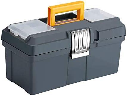 ChenCheng ツール収納ボックス - 多機能家族厚い材料修理ツール収納ボックス車のポータブルポータブルツールボックス部品収納ボックス ツールボックスストレージと組織 (Size : 35cmX17cmX18.5cm)
