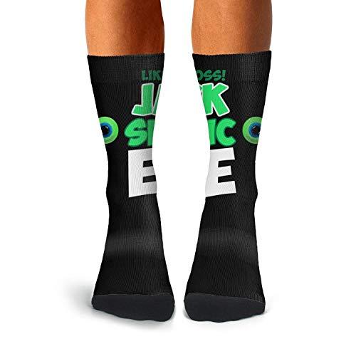 b462ec535 MokeC Men s famouse-jacksepticeye-logo- Classics Crew Dress Athletic Socks