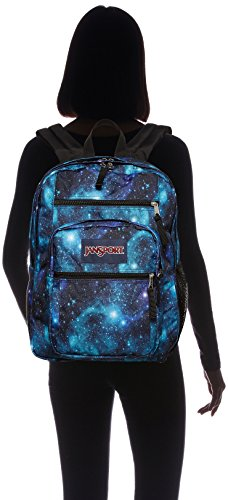 JanSport Backpack Galaxy Big Student Spirit Free White Black qfWPUnCwq