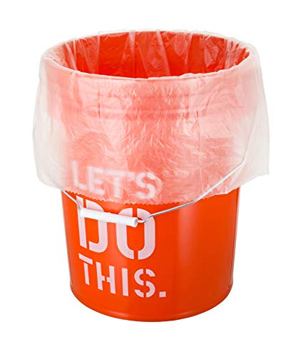 (5 Gallon Bucket Liner Bags for Marinading and Brining - Durable, Food Grade, BPA Free, 25/Roll)
