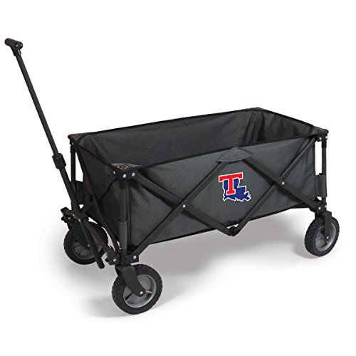 NCAA Louisiana Tech Bulldogs Adventure Digital Print Wagon, One Size, Dark Grey/Black by PICNIC TIME