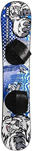 Freeride 110 Beginner Level 2 Snowboard 1069T – Fit for Rider up to 95lbs by Emsco