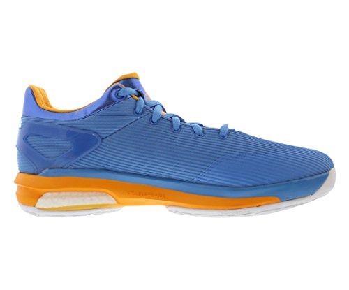 Adidas Crazylight Boost Lage Afflal Basketbal Heren Schoenen Maat Blauw / Wit / Goud