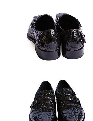 Nbwe Mannen High-end Custom Lederen Kleding Schoenen Business Casual Schoenen Handgemaakte Banket Bruidegom Trouwschoenen Koffie