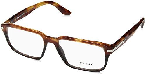 Prada PR09TV Eyeglass Frames UFN1O1-55 - Light Havana/Spotted Grey - Us Eyeglass Manufacturers The In Frames