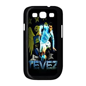 Soccer Barcelona Lionel Andr¡§ s Messi Football Club Classic Design Print Black Case With Hard Shell Cover for Samsung Galaxy S3 I9300