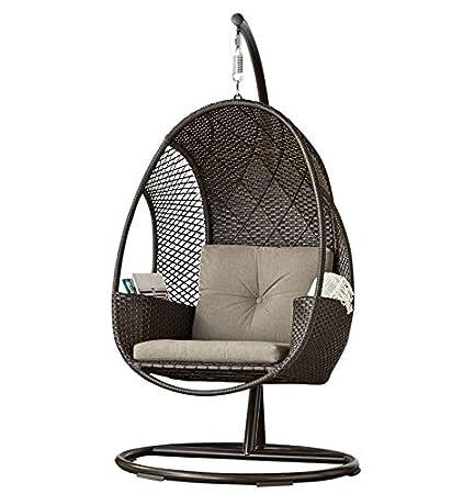 Hanging Wicker Egg Chair Amp Amazon Com Sunvilla Outdoor
