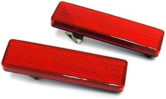 2x Opel Vauxhall Movano A Vivaro Red LED Tail Stop Brake Turn Signal Side Light
