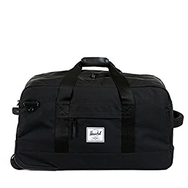 Herschel Supply Co. Wheelie Outfitter, Black, One Size