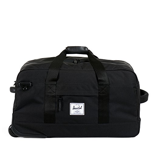 Herschel Supply Co. Wheelie Outfitter, Black, One Size by Herschel Supply Co.