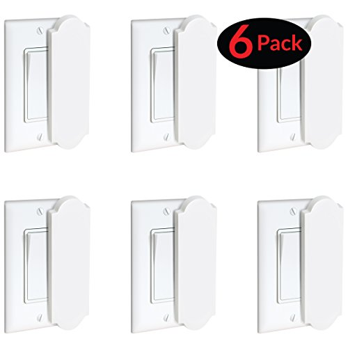 Light Switch Lock (6) by Pails and Buckets