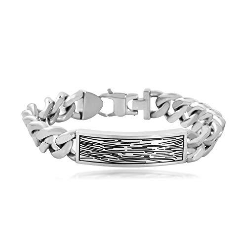 Men's Chain Link Bracelet in Stainless Steel - TSBG1095-57608358