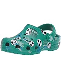 Kids Classic Soccer Clog|Slip on Water Shoe for Toddlers, Boys, and Girls