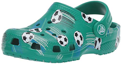 Crocs Unisex-Child Kids' Classic Graphic Clog | Slip on Water Shoes for Boys and Girls