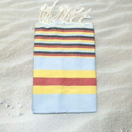 Hawaii amarillo 100% algodón Fouta toalla de baño, 100 cm x 200 cm, probablemente la ...
