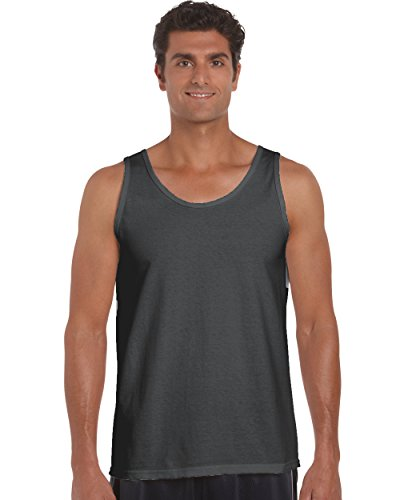 Gildan 2200- Classic Fit Adult Tank Top Ultra Cotton - First Quality - Charcoal - 2X-Large