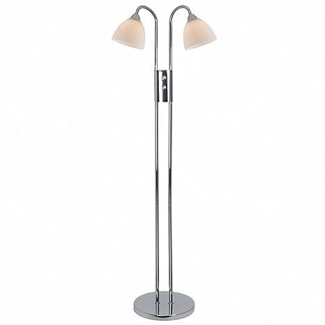 Nordlux - Lámpara de pie Blu-ray 2, 2 puntos de luz, E14 ...