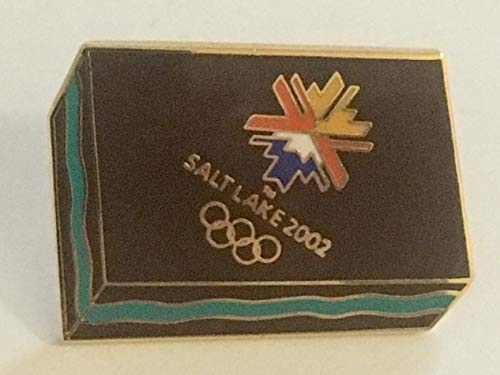 2002 Salt Lake City Winter Olympics Creme De Menthe Chocolate Mint Candy Pin