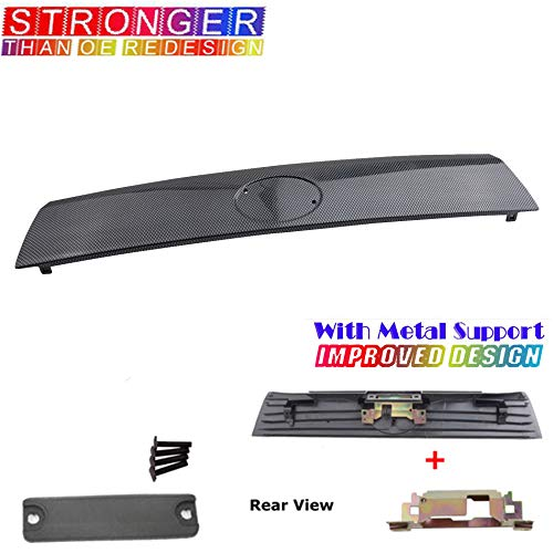 For 05-10 Scion Tc Rear Hatch Handle Trunk Tailgate Lid Racing Carbon Fiber Look B3721BSR 05 06 07 08 09 10