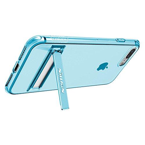 Nillkin Crashproof II transparent Halterung Fall für Apple iPhone 7Plus–Blau