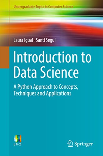 [BOOK] Introduction to Data Science: A Python Approach to Concepts, Techniques and Applications (Undergradu<br />[E.P.U.B]