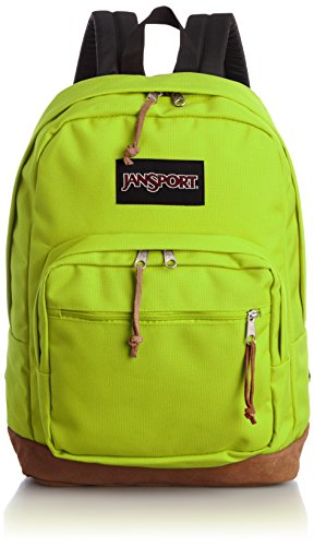 Jansport Right Pack Active Backpack – Lime Punch – 18 h X 13 w X 8.5 d