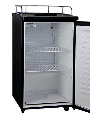 Kegco K199B Kegerator Cabinet Only - Black Cabinet and Door by Kegco (Image #2)