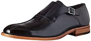 Stacy Adams Men's Dinsmore Plain Toe Monk Strap Slip-On Loafer by Stacy Adams