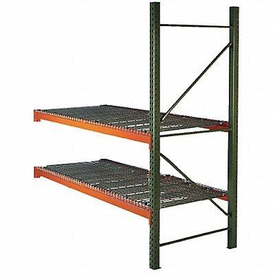 Pallet Rack Add-On 108x42x144 w/Deck by HUSKY RACK WIRE