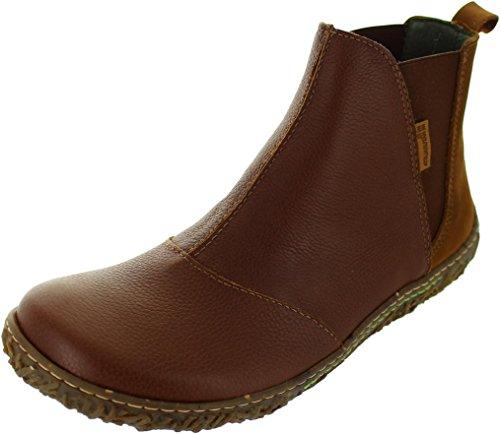 El Naturalista Womens N786 Nido Leather Boots Braun